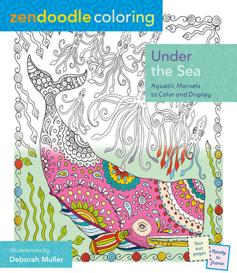 Under the Sea - Aquatic Marvels to Color and Display - Coloring Book Zone