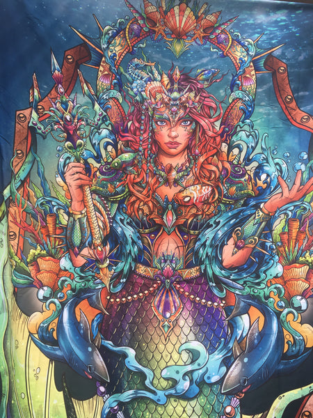Goddess of Sea Tapestry