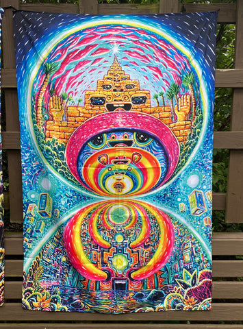 Shifting Dimensions Tapestry