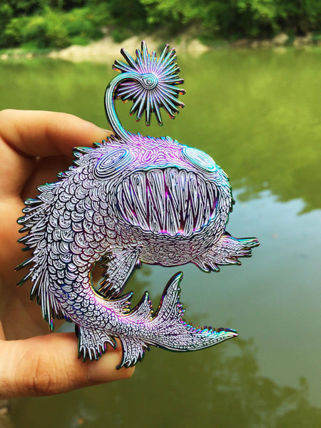 V4/Rainbow Mystical Angler pin