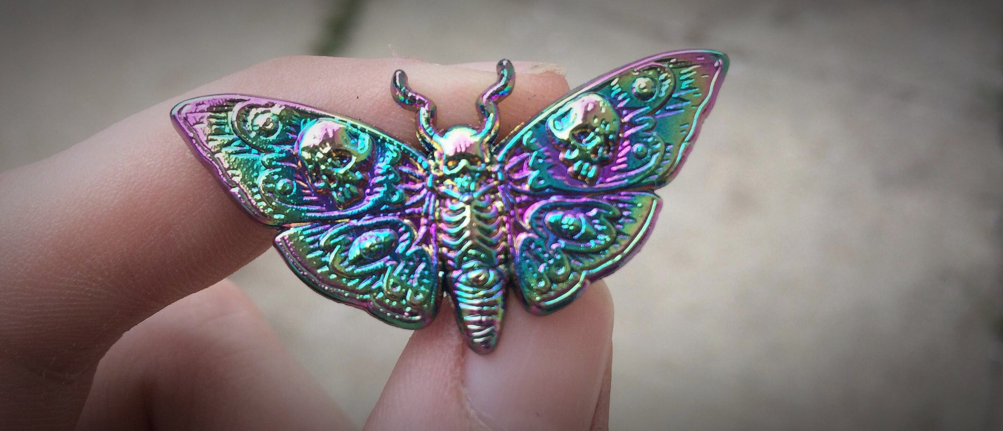 Satria Day 13 Anodized 3D Butterfly