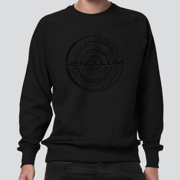 CHROME EMBROIDERED LOGO SWEATSHIRT