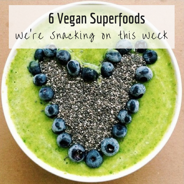 Vegan superfoods and snacks