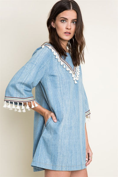 Avery Landslide Denim Dress