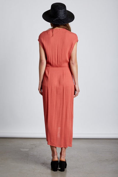 Montecito Coral Knot Dress