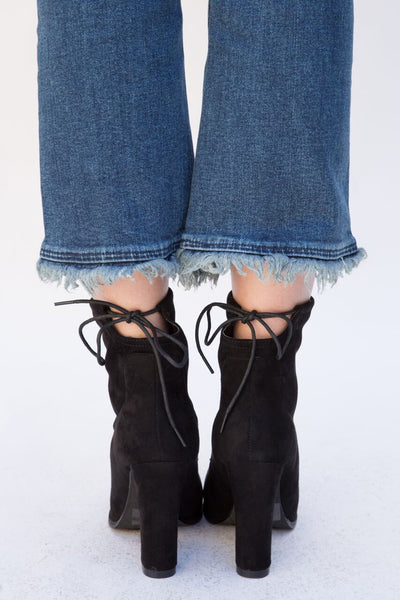 Cara Vegan Suede Ankle Boots