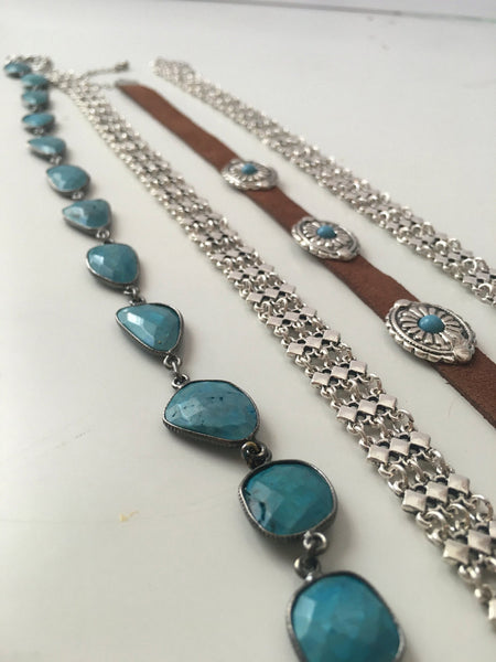 Wild Skies Turquoise Choker Necklace