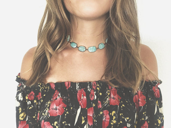 Good Vibrations Choker Necklace