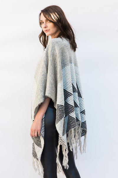 Wrap Me Up Knit Poncho