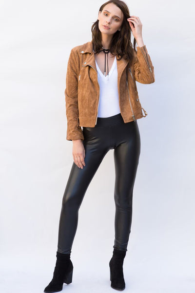 Flynn Vegan Leather Leggings
