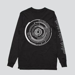 THE REWORKS BLACK LONG SLEEVE T-SHIRT