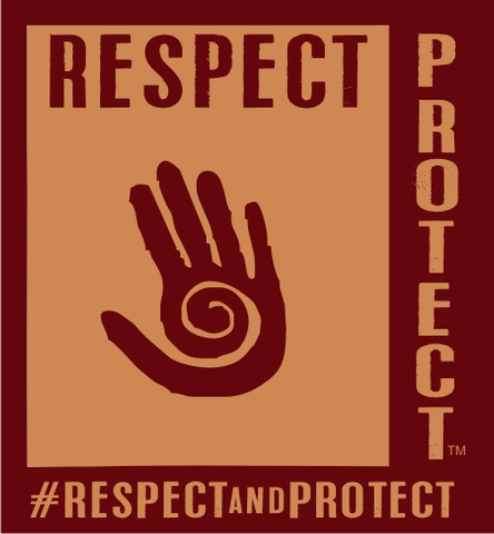 Respect and Protect Hand Magnet (Individual)