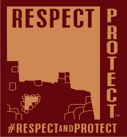 Respect and Protect Ruin Magnets (Bundle of 100)