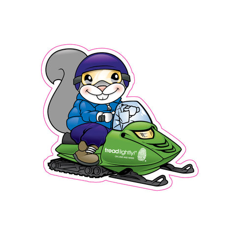 Lightfoot Snowmobile Sticker - Qty. 100