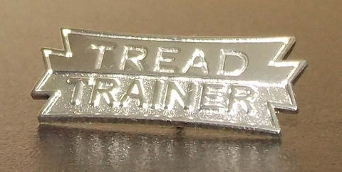 Tread Trainer Lapel Pin