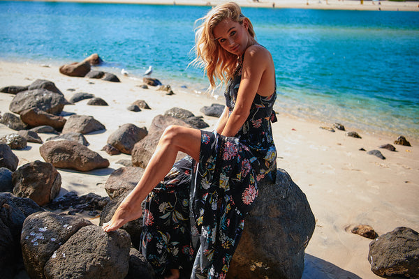 Hurley Maxi Dress - Under the Stars