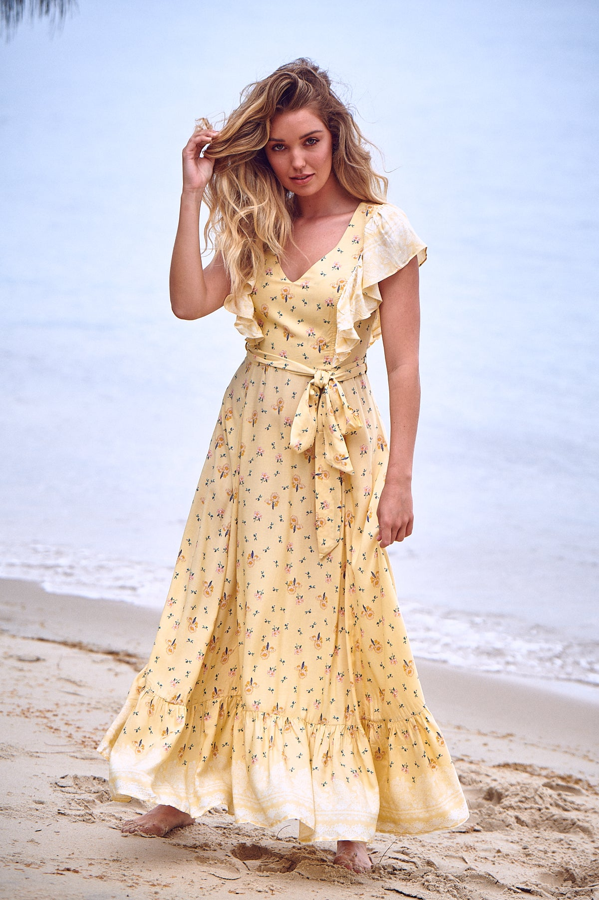 Krista Dress - Limencello