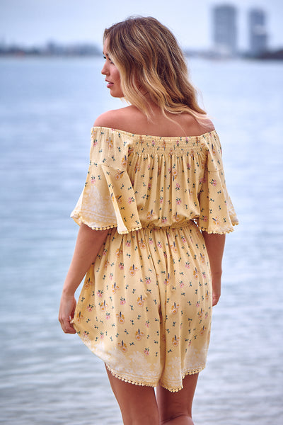 Penny Playsuit - Limencello