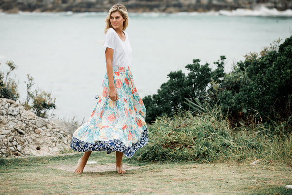 Elina Skirt - Coastal Love