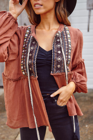 Casey Embellished Jacket