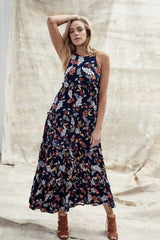 Phoebe Dress - Autumn Leaves