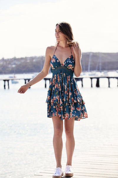 Tori Dress - Tuscan Escape