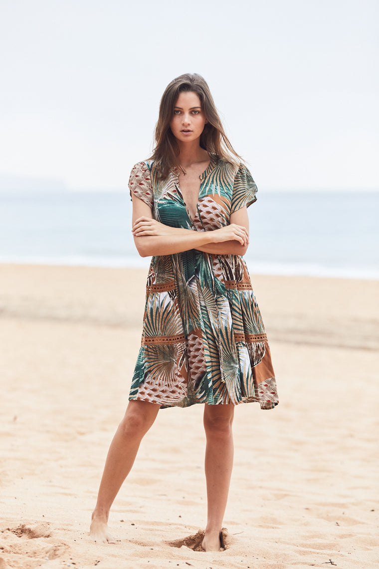 Lauryn mini dress - Palm springs
