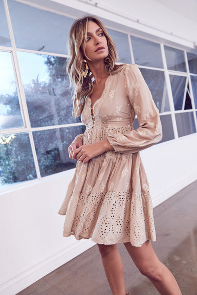 Misty dress - Golden Sands