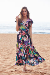 Antheia Wrap Dress - Lexa