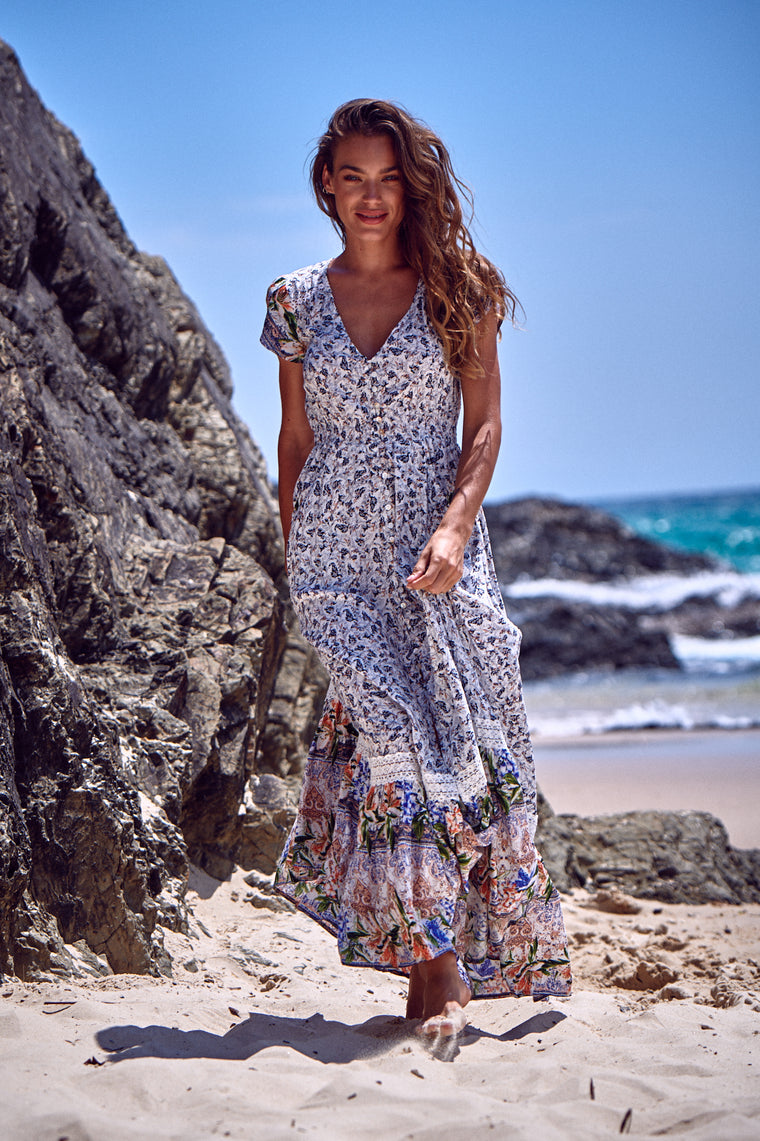 Carmen Maxi Dress - Child of the Wild