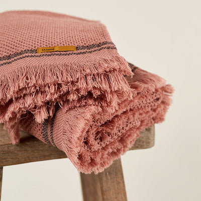 Nurture Pomegranate Towel Range