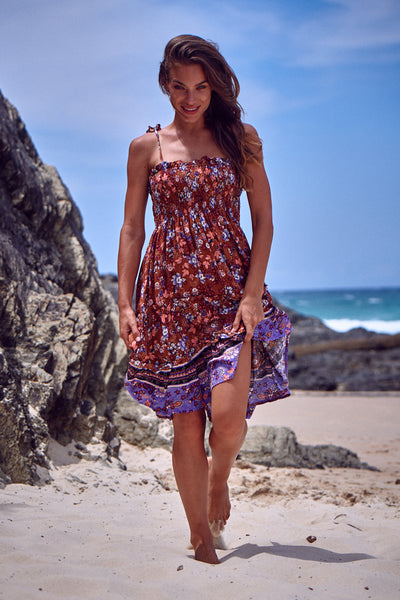 Palma Shirred Dress - Chantelle