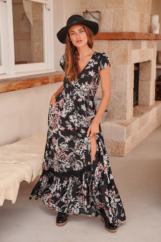 Carmen Maxi - Night Rose