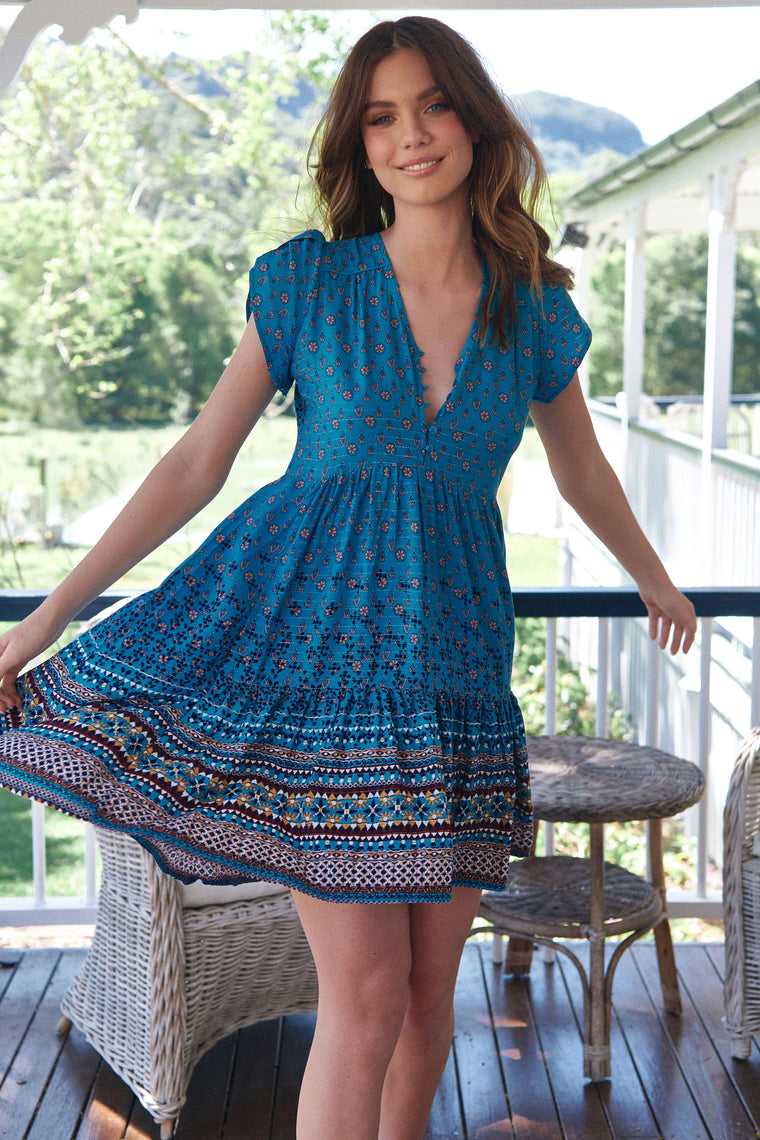 Tracey Dress - Aquarius