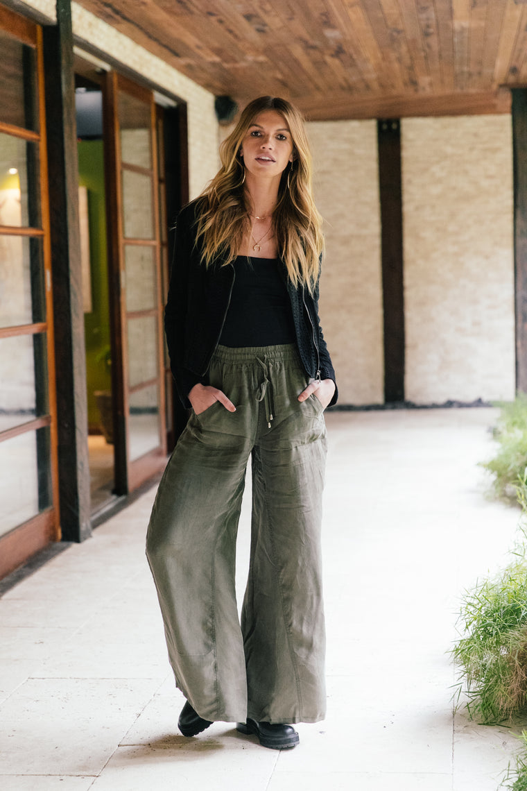 Allie Pants - Khaki