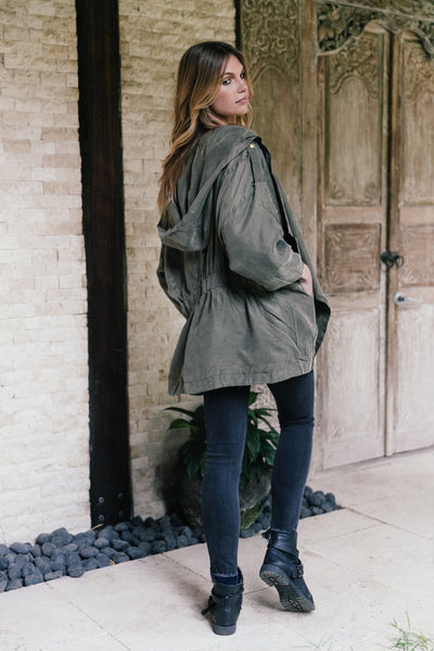 Allie Jacket - Khaki