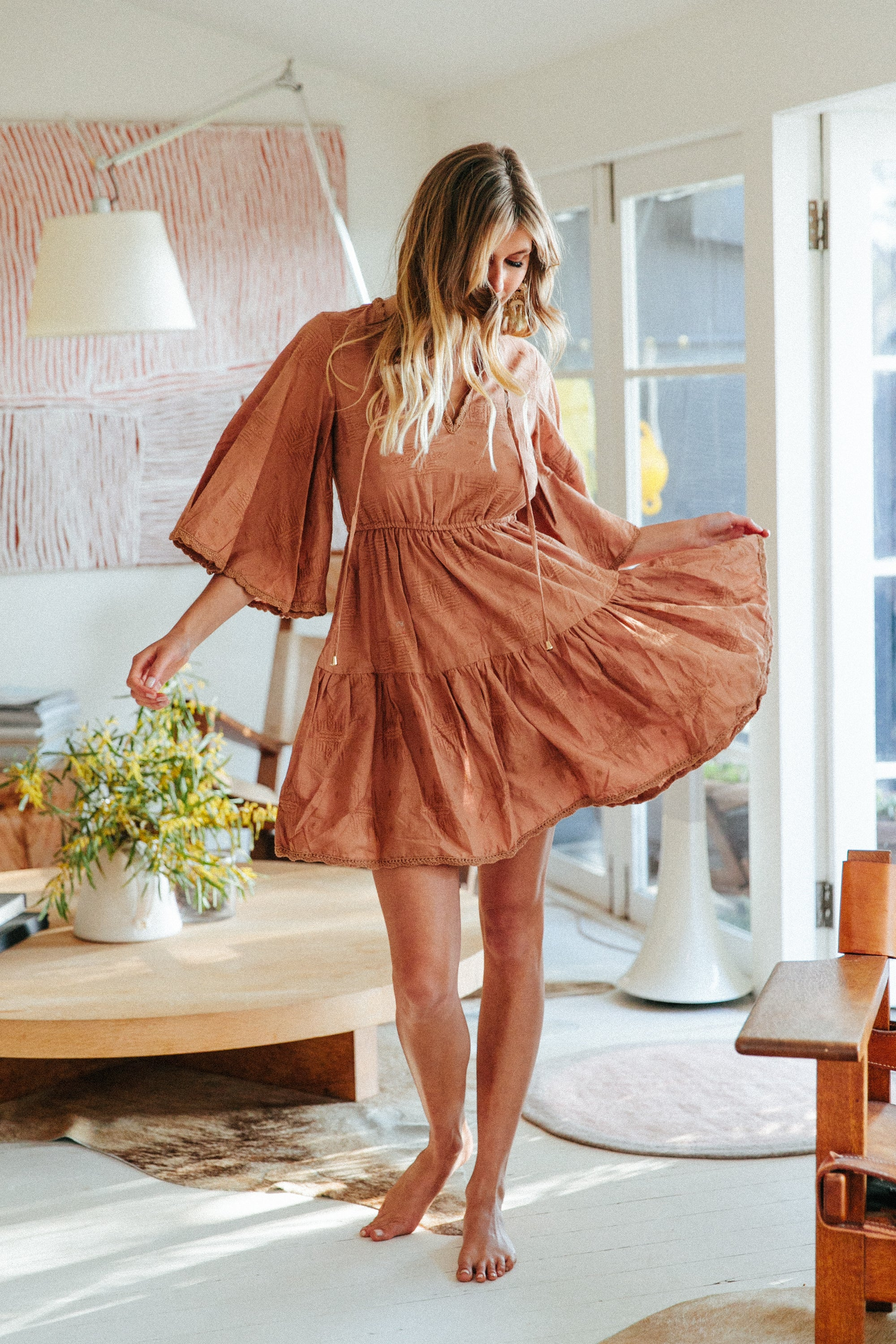 Ochre Texas Dress