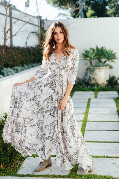 Indiana Maxi - Seeing Pink