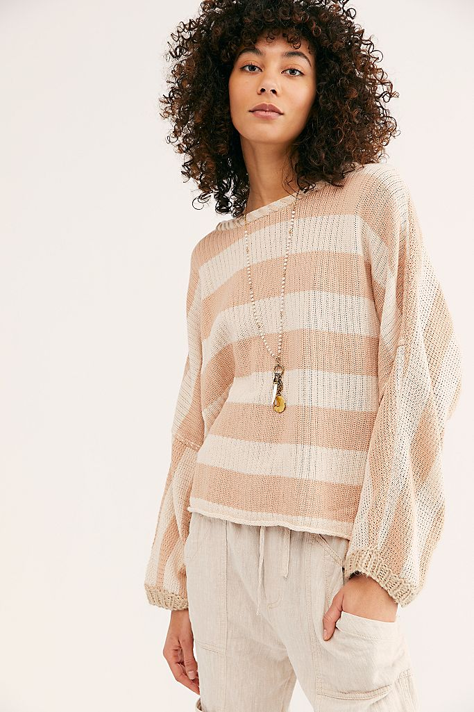 Bayway Sweater - Soft Blush