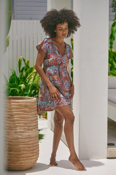 Faithful Mini Dress - Capri