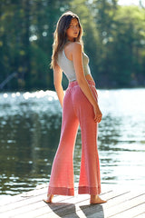 Cozy Cool Lounge Pant - Rebel Red