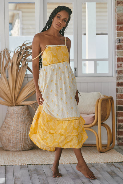 Lydia Dress - Daffodil