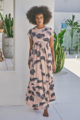 Sunny Maxi Dress - Palm Springs Dusty Rose