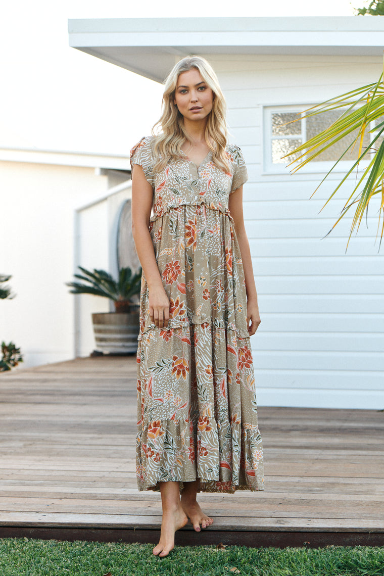 Ina Maxi Dress - Fallon
