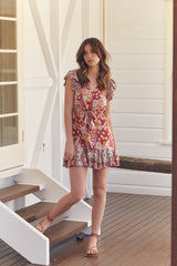 Kira Mini Dress - Flower Child