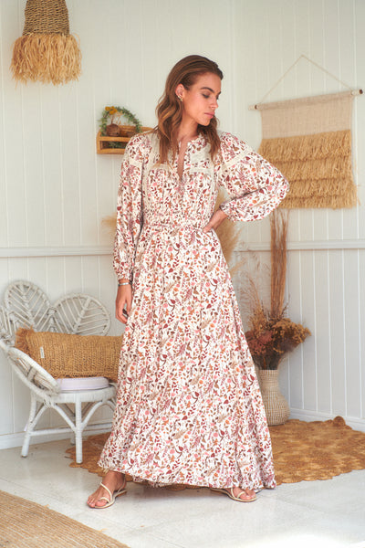 Yumi Maxi Dress - Potter Print