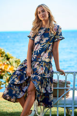 Joselyn Midi Dress -  Bloom