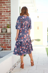 Leille Midi Dress - Allonia