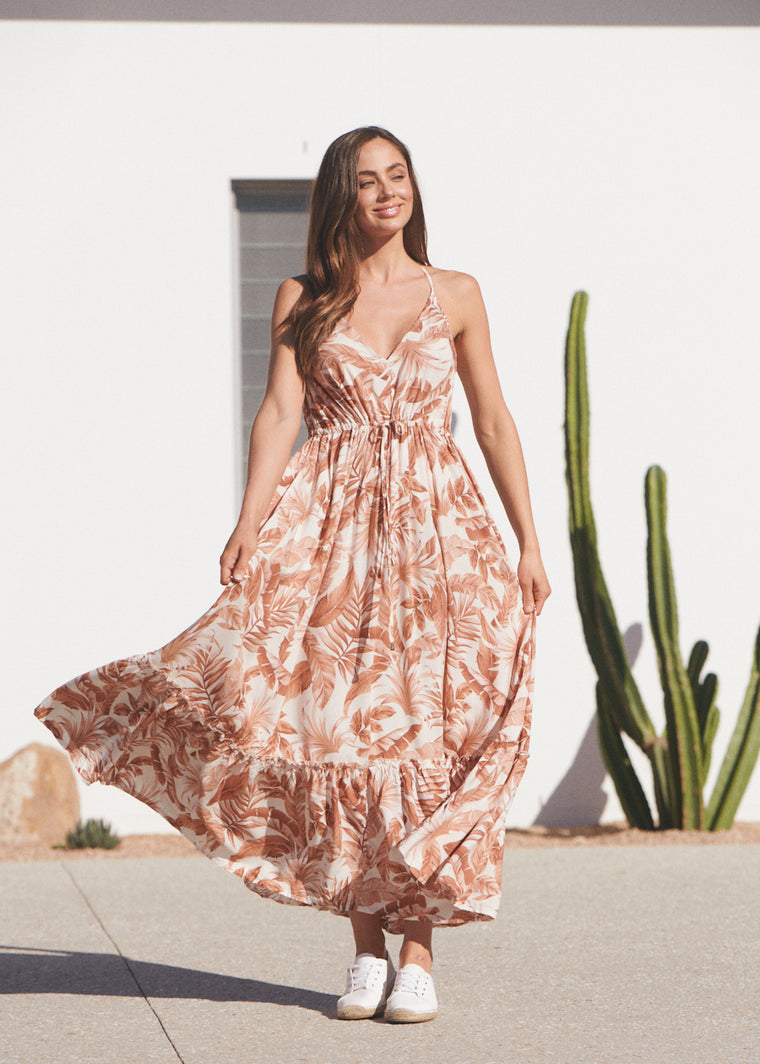 Reef Maxi Dress -  Honeysuckle
