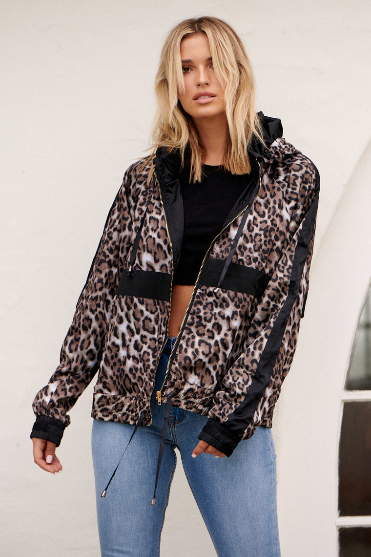 Leopard Jacket - Jaase Active